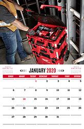 Heavy Duty Calendars | Milwaukee Tool Calendars
